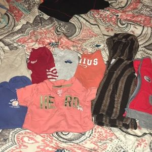Boys 12-18 months mixed lot of shirts